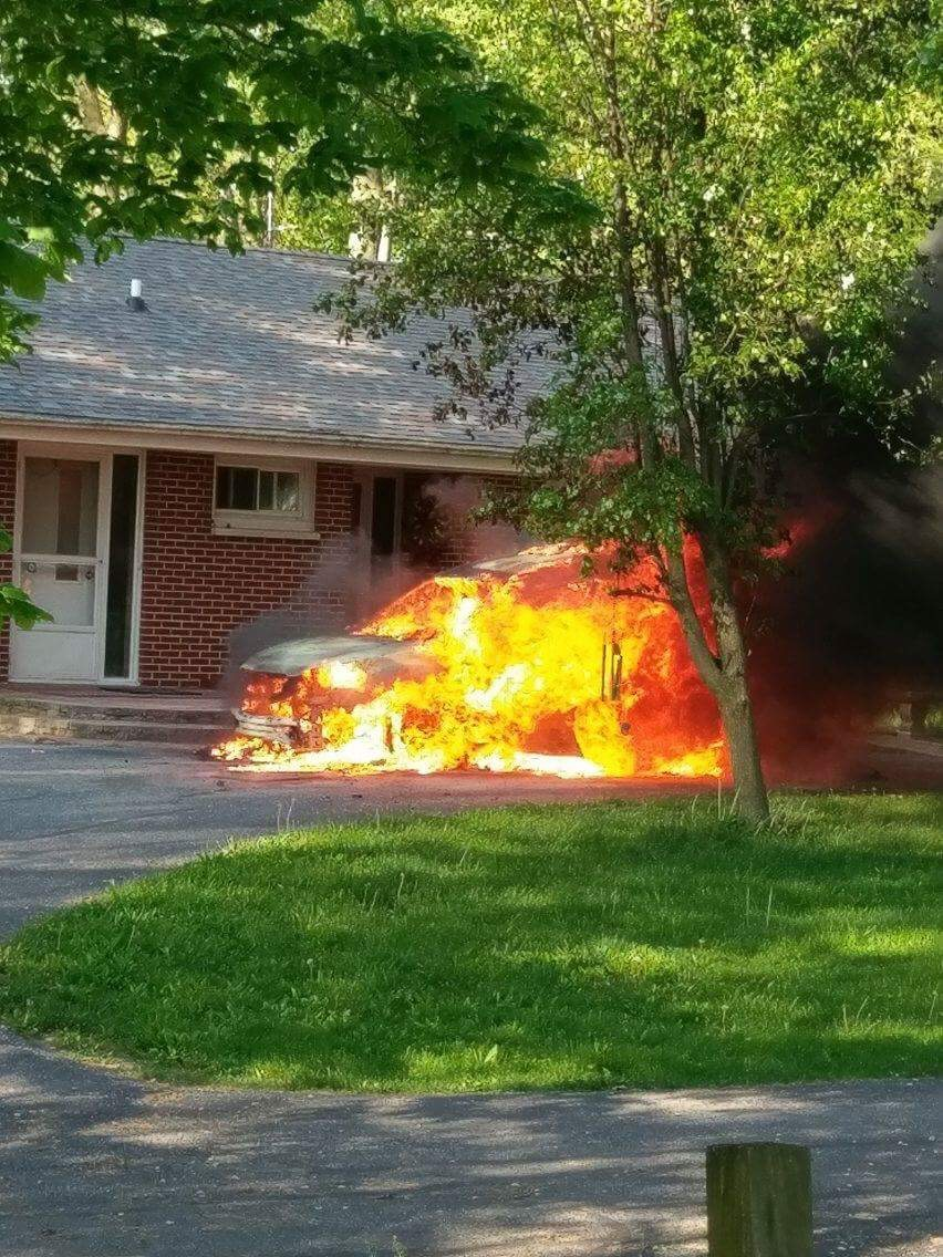 your news local car fire in miami county monday