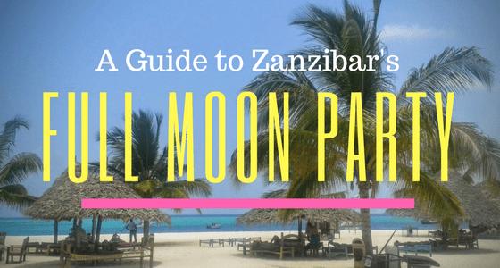 Full Moon Party: Zanzibar Style