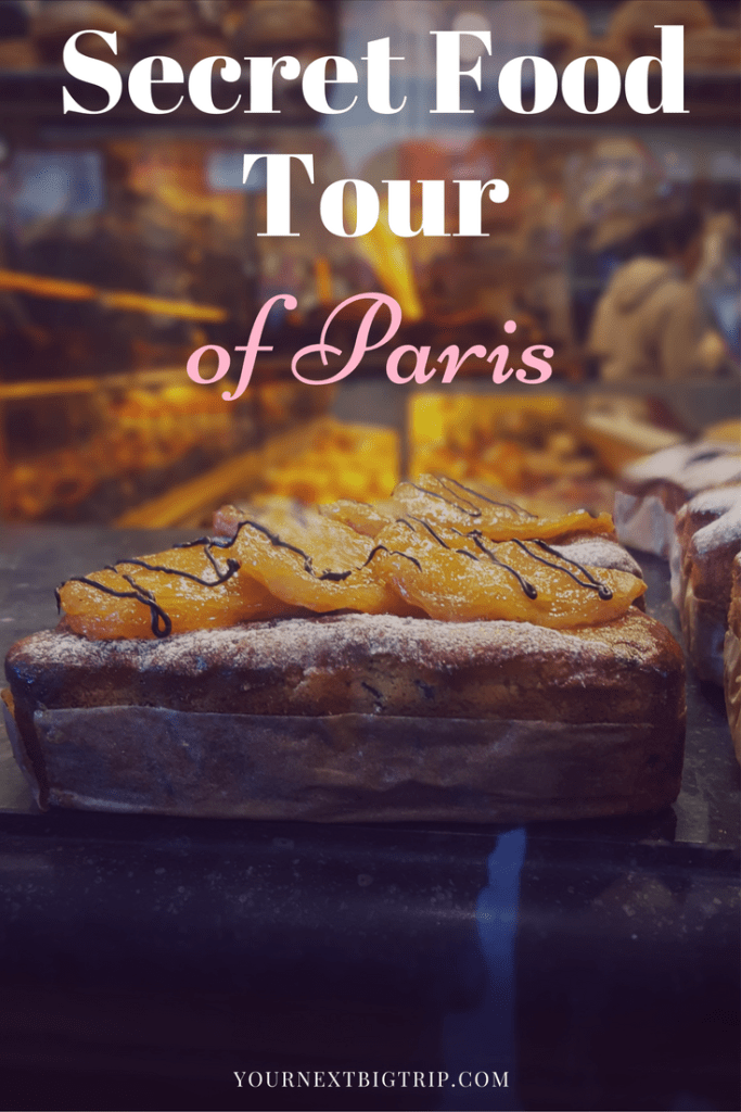 Secret Food Tour of Paris