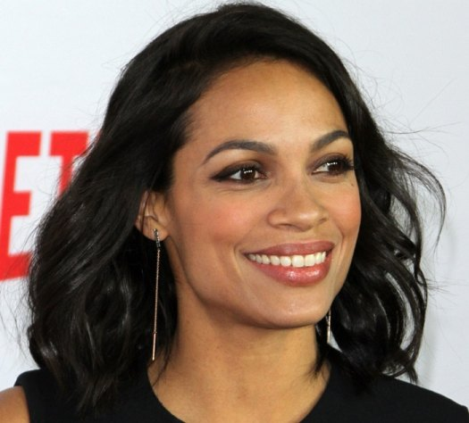 Rosario Dawson at the premiere of Netflix's 'Marvel's Daredevil' at Regal Cinemas L.A. Live in Los Angeles on April 2, 2015