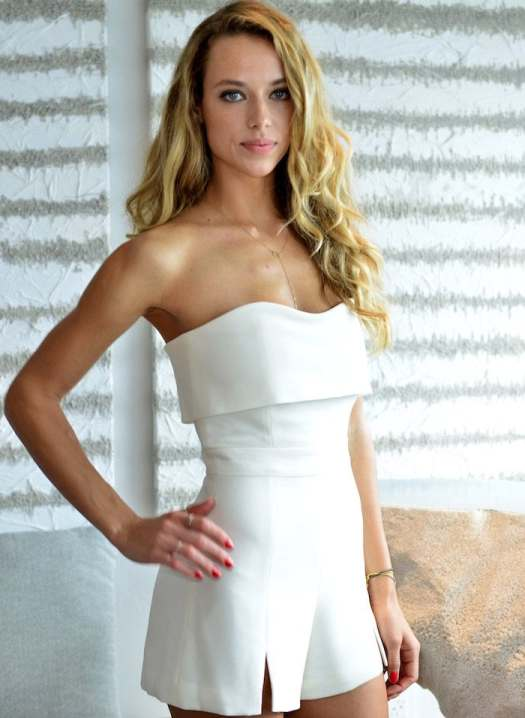 Hannah Ferguson promotes the upcoming Sports Illustrated Swimsuit issue