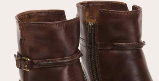 Uneven stitching is a clear indicator of fake boots