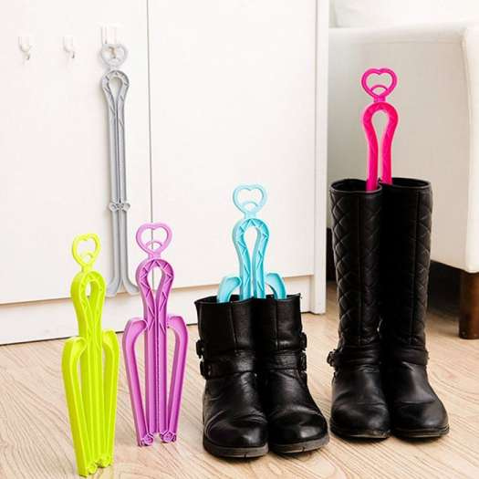 ONEDONE Folding Boot Shaper Clip Support Stand (5 Pack)