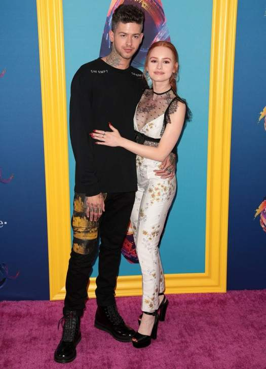 Madelaine Petsch andTravis Tatum Mills at the 2018 Teen Choice Awards held at The Forum in Inglewood, California, on August 12, 2018