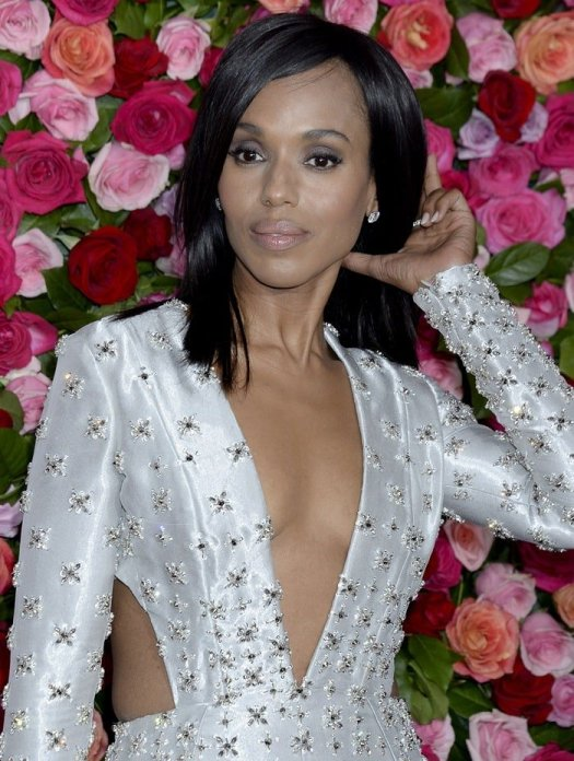Kerry Washington was a stunning beauty on the red carpet at the 2018 Tony Awards held at Radio City Music Hall in New York City on June 10, 2018