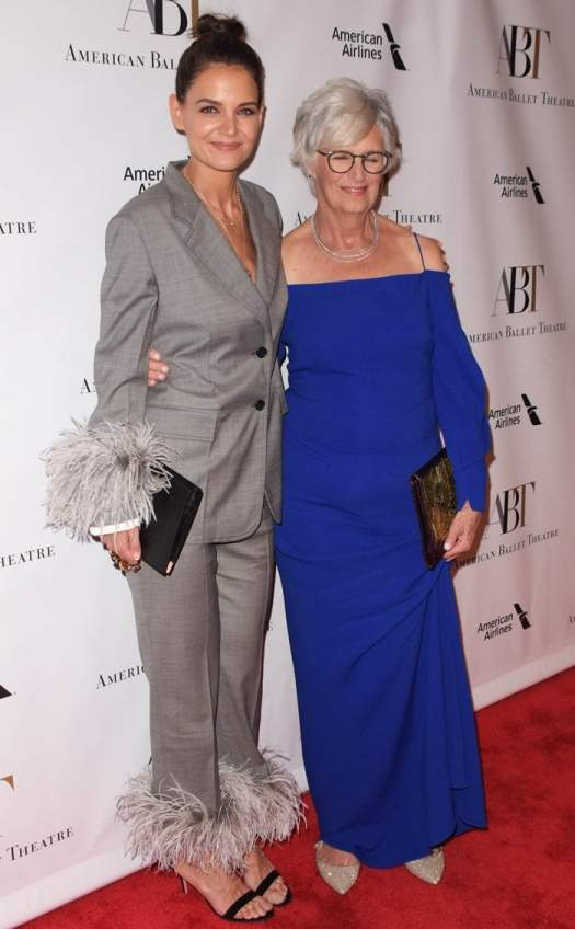 Katie Holmes was joined by her mother,Kathleen,at the 2018 American Ballet Theatre Gala