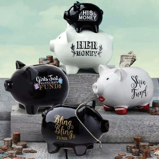 Shoe Fund Piggy Bank