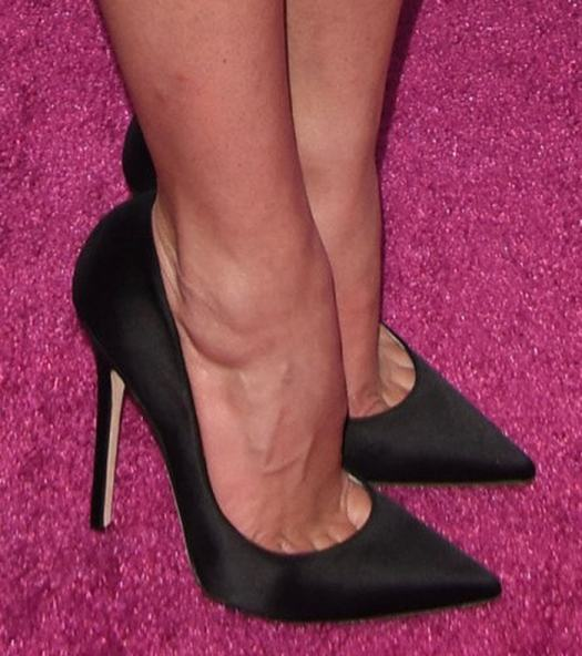 Ashley Benson adds height to her frame with Jimmy Choo pumps