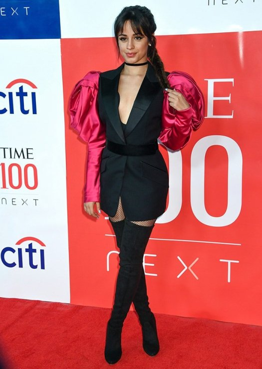 Camila Cabello attends Time Magazine's TIME 100 Next list gala held at Pier 17 in New York City on November 14, 2019