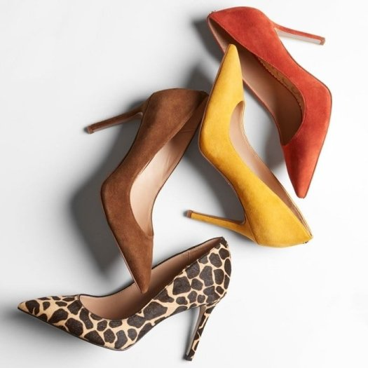The Sam Edelman Hazel stilettos boast a classic pointed toe and leg-lengthening low-cut vamp for a striking look that's sure to turn heads