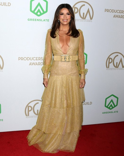 Eva Longoria at the 31st Annual Producers Guild Awards held at the Hollywood Palladium on January 18, 2020