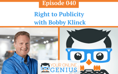 Ep 40: Right to Publicity with Bobby Klinck