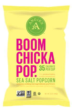Giveaway of Angie's Boom Chicka Pop Sea Salt Popcorn