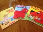 Summer Reading Giveaway #2  Win 3 Clifford The Big Red Dog Books