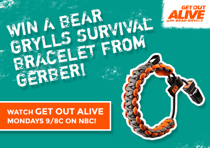 Giveaway: Official Bear Grylls Survival Bracelet from Gerber!
