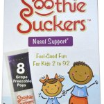 Review Of Soothie Suckers Nasal Support Freezable Ice Pops