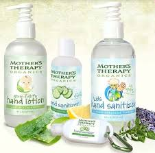Product Review and Giveaway: Mother's Therapy Organics Hand Sanitizer