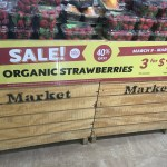 Organic Strawberry Sale at Whole Foods