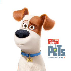 Local Summer Events For Kids: The Secret Life of Pets movie event
