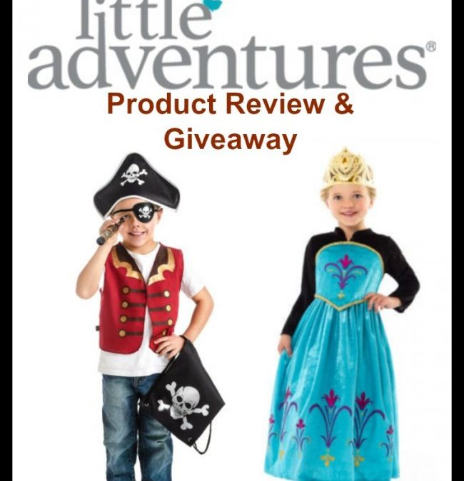 Review and Giveaway: Little Adventures Dress ups