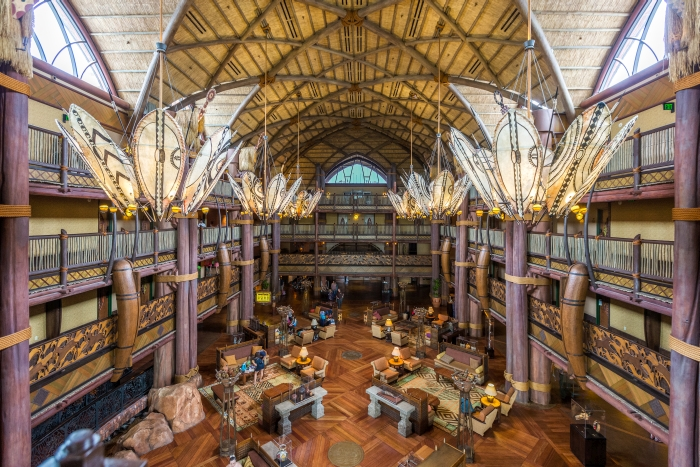 Disney Testing A Cash-less Resort At Animal Kingdom Lodge