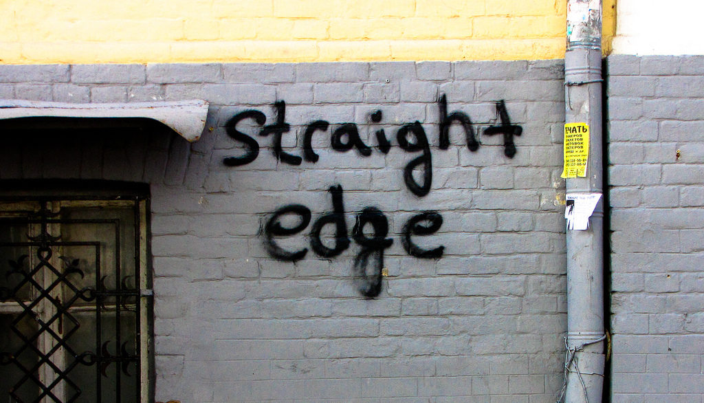 Straight Edge In A Gay World