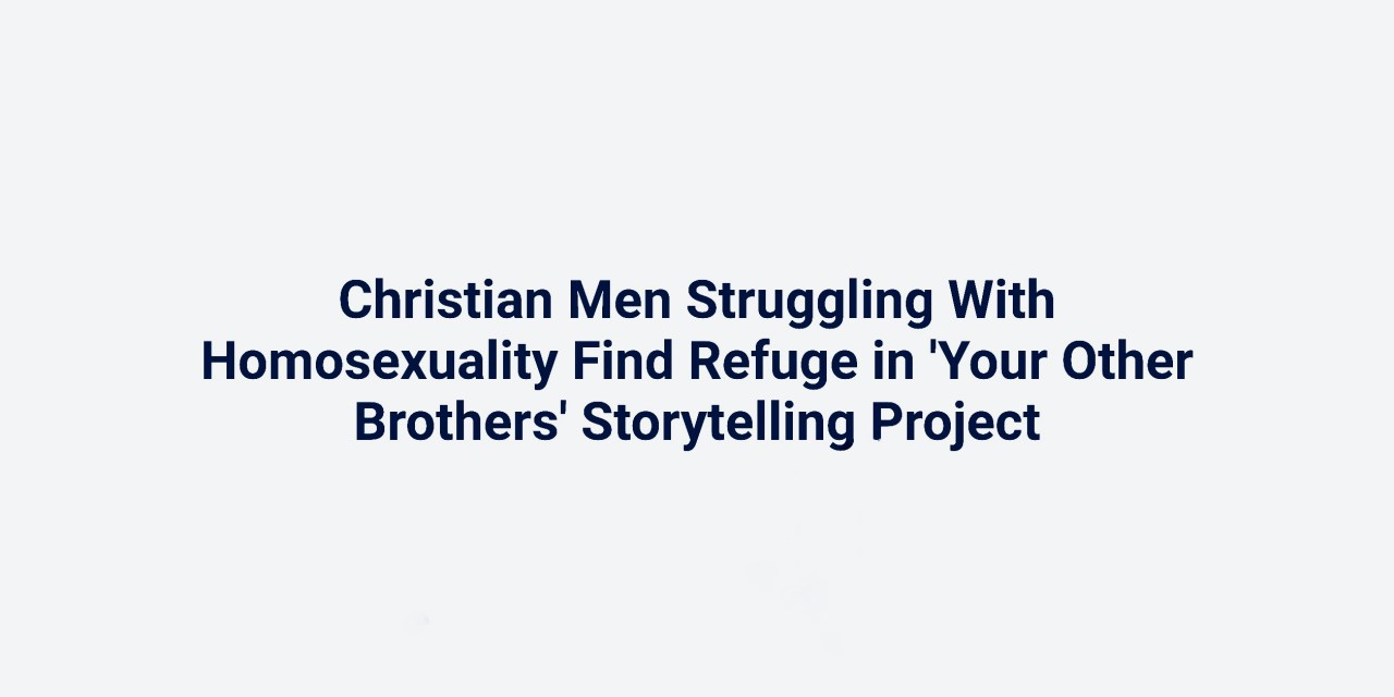 Your Other Brothers on The Christian Post!