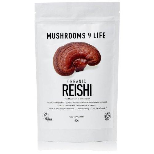 Mushrooms4Life Biologische Reishi-Poeder