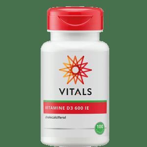 Vitamine D3 600 ie 100 capsules