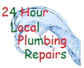 24 Hour local plumbing repairs