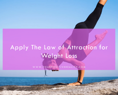 Apply The Law of Attraction for Weight Loss