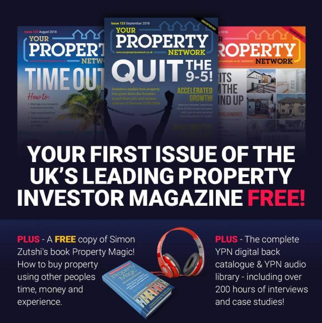 Your Property Network Magazine with Free How To Buy Property Book