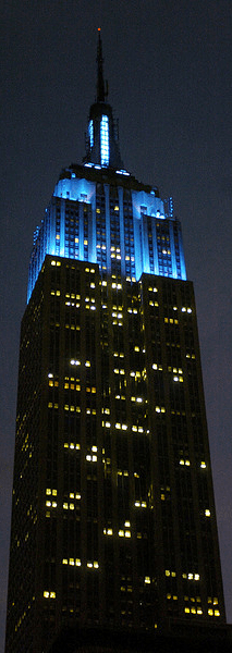 Light It Up Blue for Autism Awareness Day