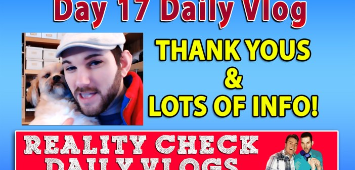 DAY 17 VLOG: Thank Yous & Kickstarter Update!