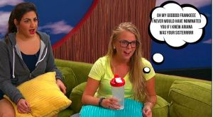 Nicole Franzel and Victoria Rafaeli react to Frankie revealing his is Ariana Grande's brother