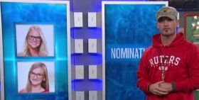 Caleb Reynolds nominates Christine Brecht and Niocle Franzel on Big Brother 16 episode 30