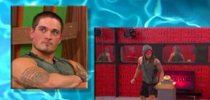 Caleb Reynolds reacts to the BB Rewind on Big Brother 16 episode 35