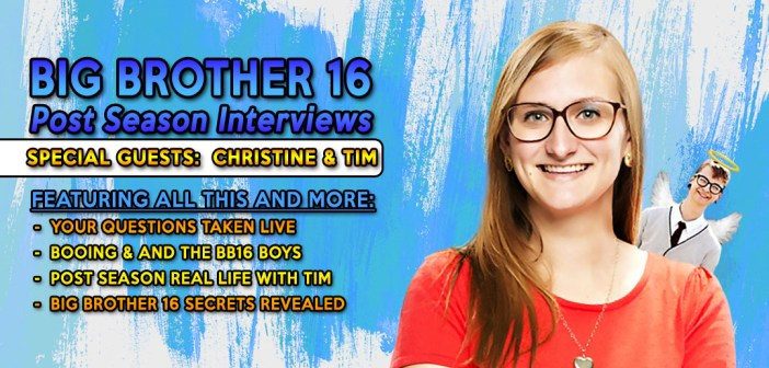 #BB16 Post Season Interviews:  Christine & Tim Brecht