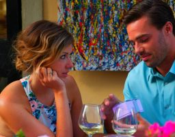 Tim Warmels gives Trish a surprise on their date on The Bachelor Canada 2 episode 6
