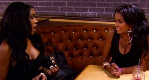 Claudia Jordan and Porshe Williams have it out at a party on RHOA Episode 12