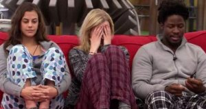 Godfrey Manzwiga and Ashleigh Wood react  to Bobbly Hlad's secret veto on BBCAN 3 episode 19