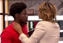 Brittnee Blair saves Godfrey Manzwiga on BBCAN3 episode 23