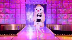 Pearl shows off her BFF Hello Kitty character on RuPaul's Drag Race season 7.