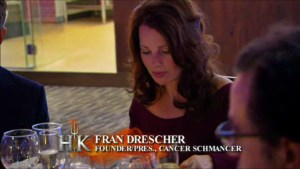 Fran Drescher makes an appearance on Hell's Kitchen season 14.