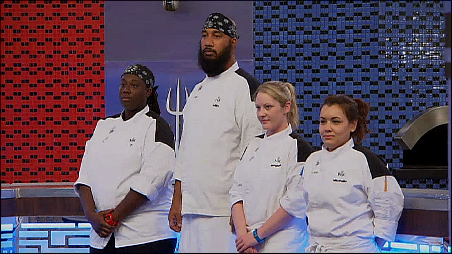 the final four chefs on hells kitchen season 14 are t milly meghan and - Hells Kitchen Season 14