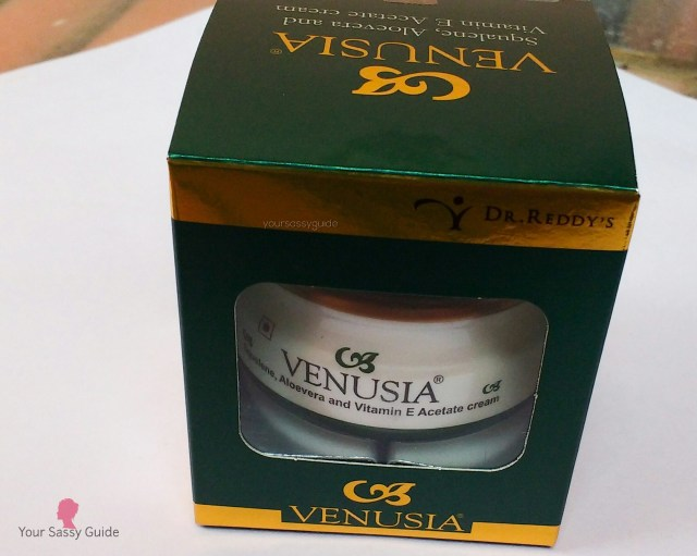 Venusia Squalene, Aloevera and Vitamin E Acetate Cream