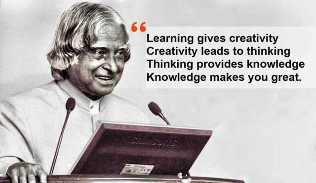 abdul kalam thoughts images