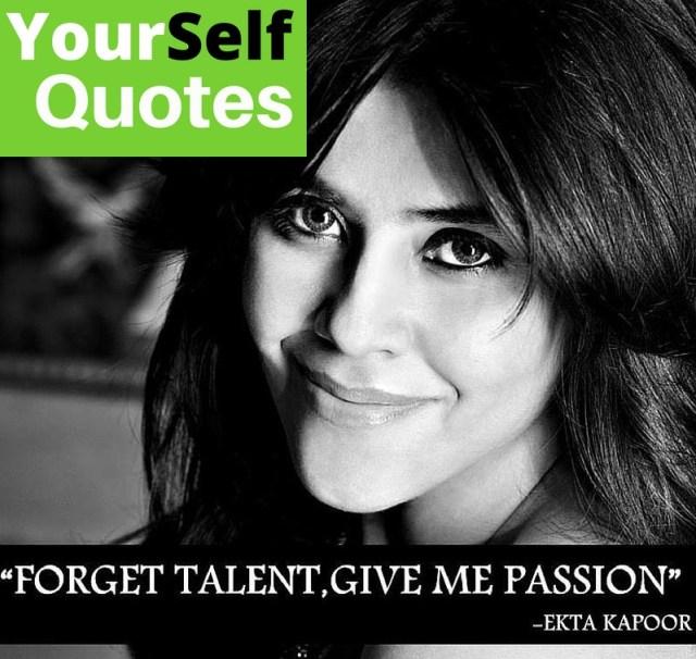 Ekta kapoor pictures with quotes