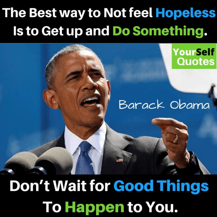 Yourself Quotes by Barack Obama