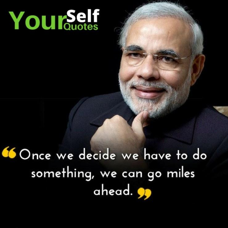 Best Narendra Modi Quotes